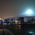 霧雨のサービスエリア